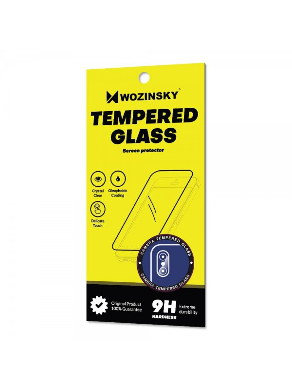 Sticla camera spate, Wozinsky Tempered Glass 9H, Huawei P30 Lite, Transparent