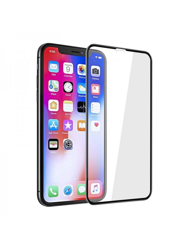 Folie de Sticla 5D, Apple XS MAX , Full Glue,Tempered Glass,Negru