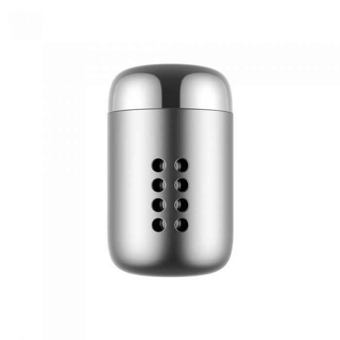 Odorizant Auto Baseus, Little Fatty Air Vent Fragrance, Argintiu