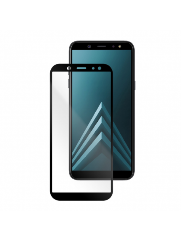 Samsung Galaxy A6 (2018) | Full Frame Tempered Glass Vetter GO | Black