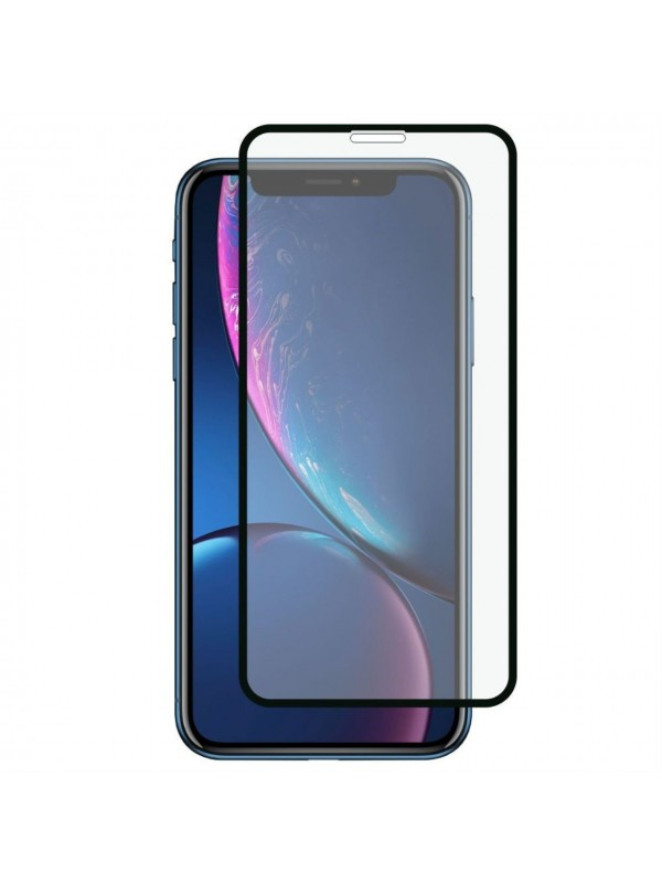 Folie Sticla Tempered Glass Full Glue 9H iPhone XR, Negru