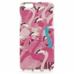 Husa Iphone 6/6s Fosforescenta Flamingo