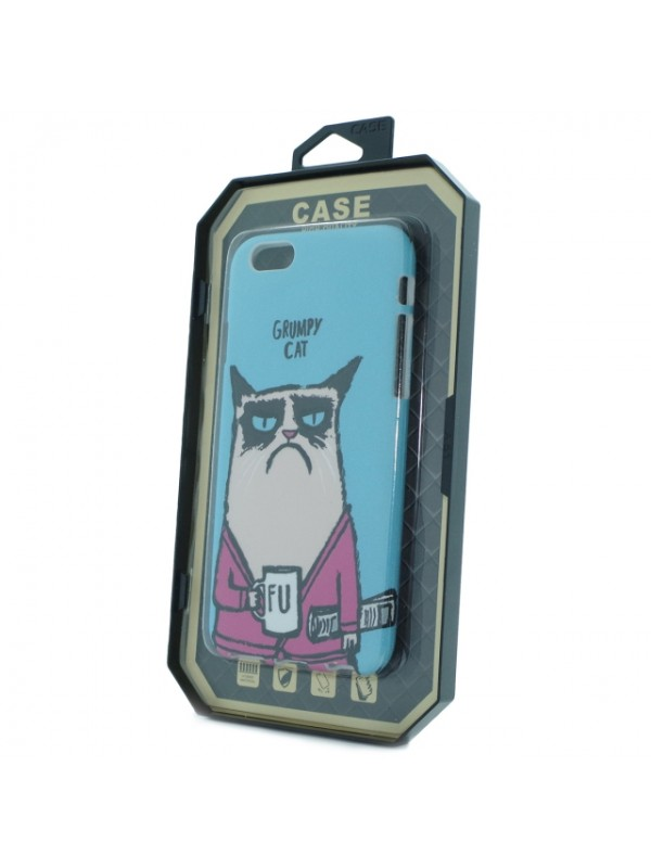 Husa Iphone 6/6s Fosforescenta Cat