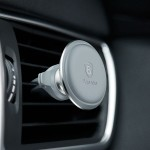 Suport Auto Baseus Magnetic Air Vent, Argintiu  Cable Clip Holder