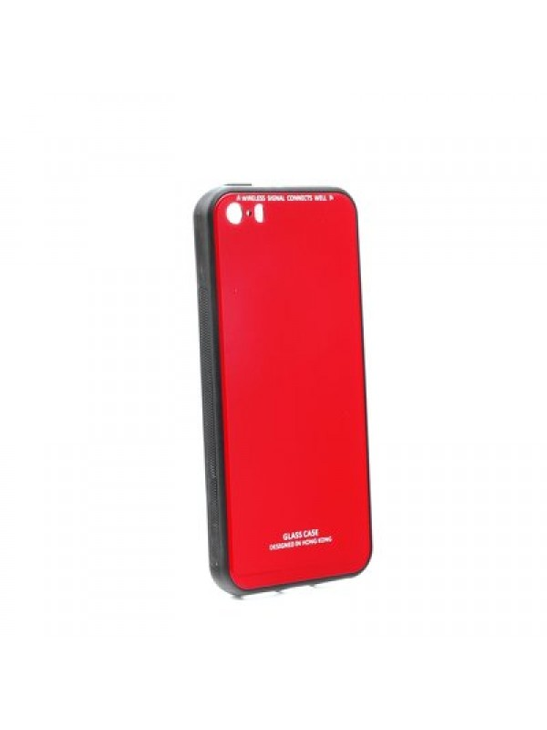 Husa Glass Case - Apple iPhone 5 / 5S / SE Glass Series