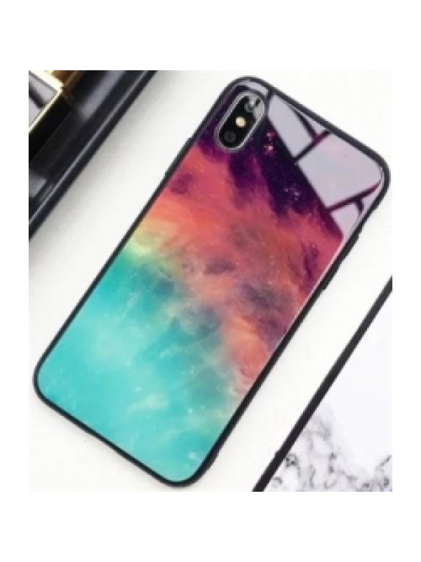 Husa Glass Case-Galaxy 2 Samsung A7 2018