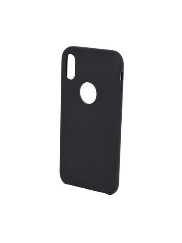 Husa Forcell Silicon iPhone XS, Negru