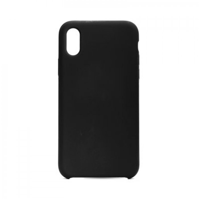 Husa Silicon Forcell iPhone XS ,Negru