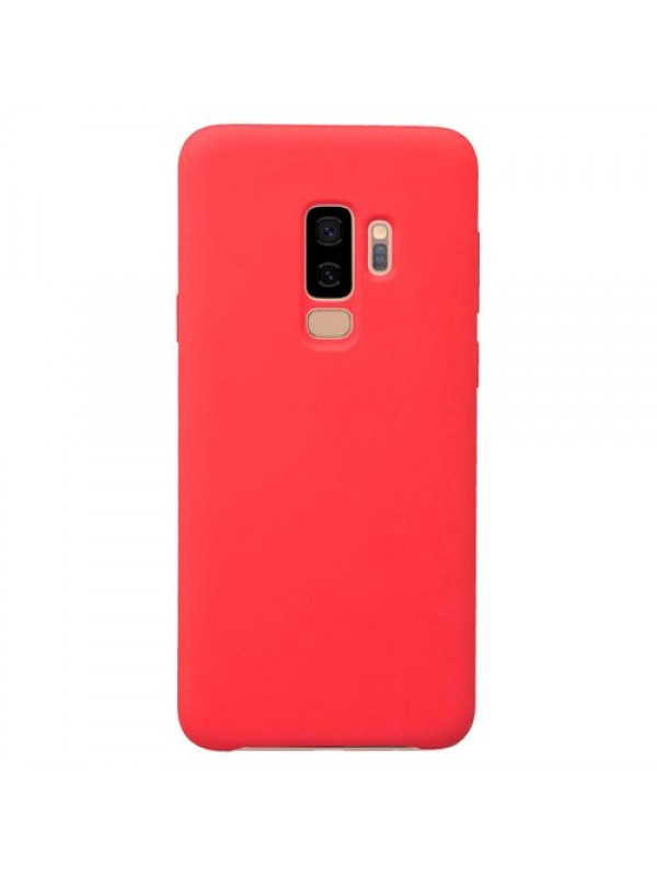 Husa silicon Forcell Samsung S9 Plus, Rosu