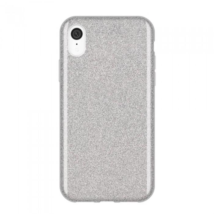Husa silicon Glitter iPhone XR