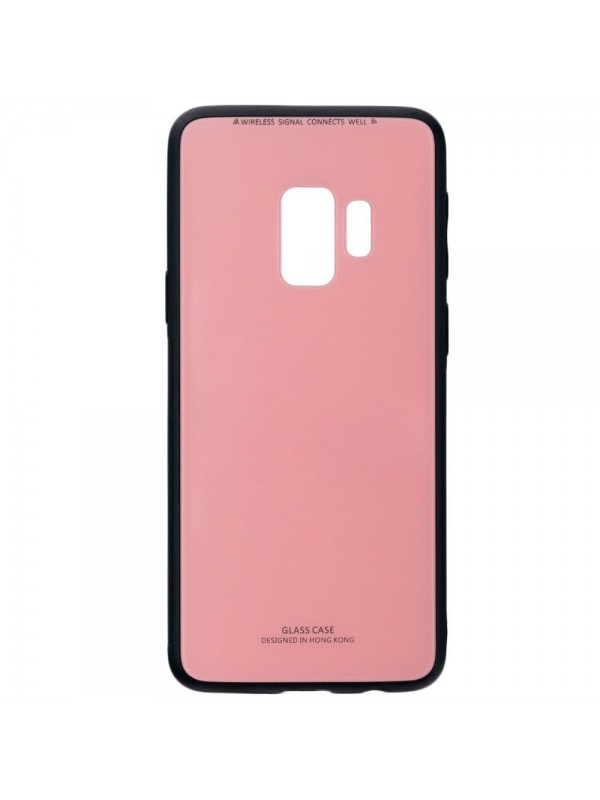 Husa Glass Case - Samsung S9 Plus, Roz