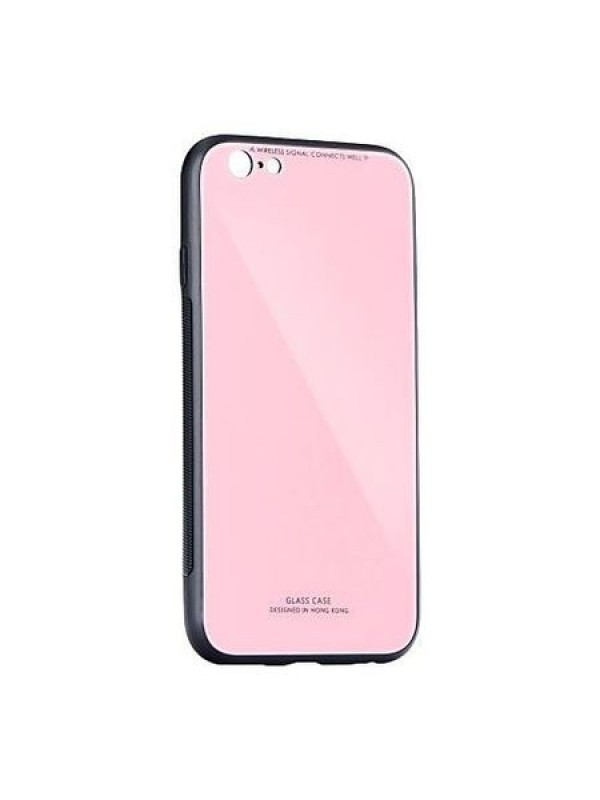 Husa Glass Case -Huawei P20 Lite, Roz