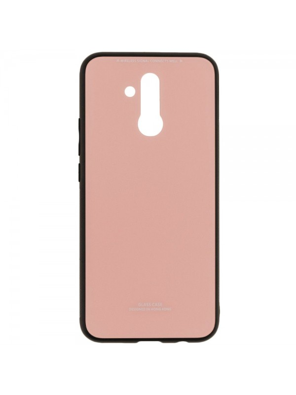 Husa Glass Case - Huawei Mate 20 Lite, Roz