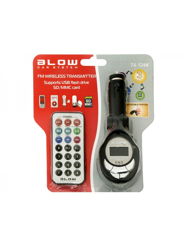 Modulator FM Blow Car System