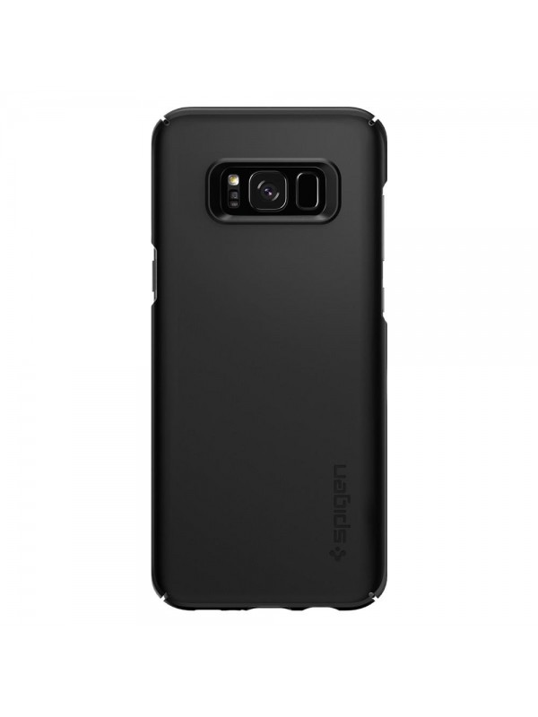 Husa Samsung Galaxy S8 Plus, Spigen Thin Fit, Negru