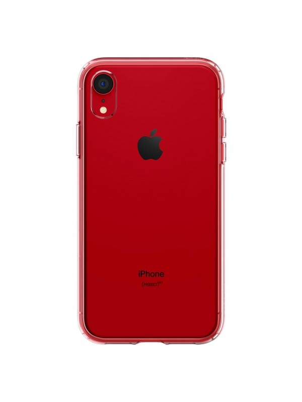 Husa iPhone XR, Spigen Liquid Crystal, Transparent
