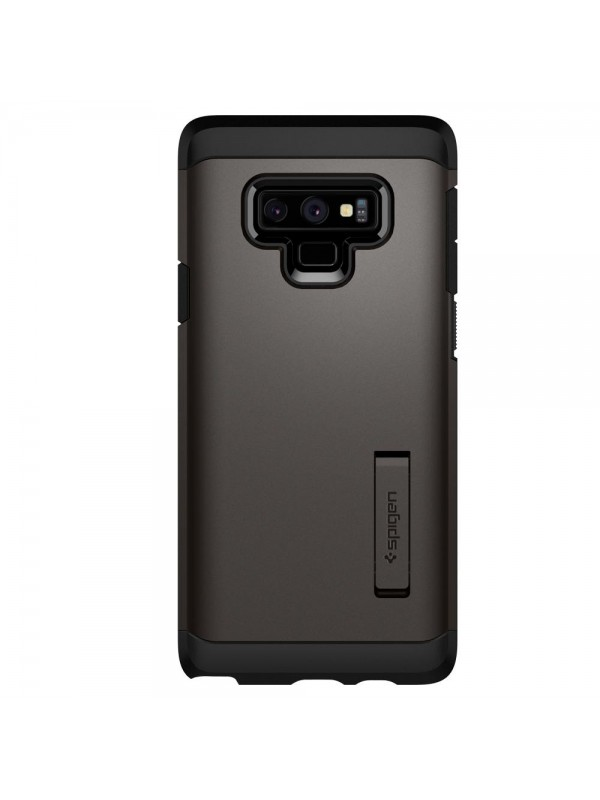 Husa Samsung Galaxy Note 9, Spigen Tough Armor, Gunmetal