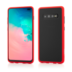Husa Vetter Samsung Galaxy S10+ Clip-On Hybrid Protection Shockproof Soft Edge and Rigid Matte Back Cover Rosu