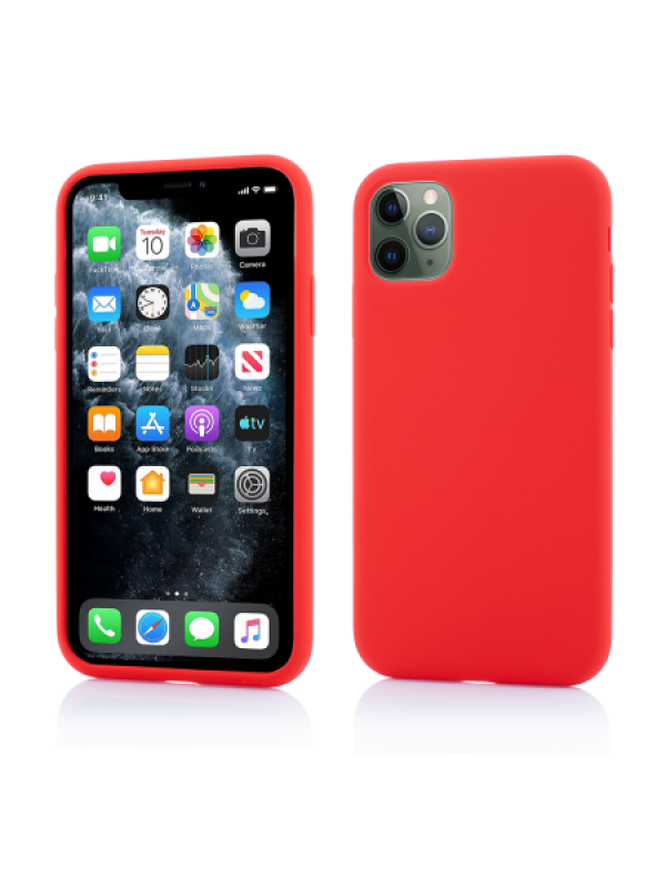 Husa Vetter iPhone 11 Pro Clip-On Soft Touch Silk Series Rosu