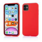 Husa Vetter iPhone 11 Clip-On Soft Touch Silk Series Rosu