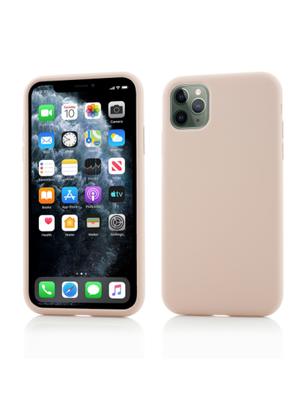 Husa Vetter iPhone 11 Pro Max Clip-On Soft Touch Silk Series Roz