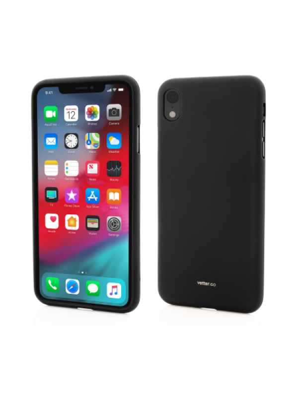 Husa Vetter iPhone XR Vetter GO Soft Touch Negru