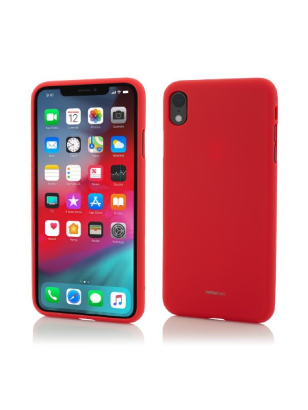 Husa Vetter iPhone XR Vetter GO Soft Touch Rosu