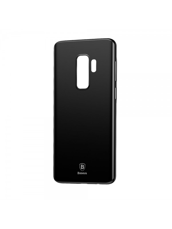 Husa de protectie, Baseus Wing Case Ultra Thin Lightweight, Galaxy S9, Negru