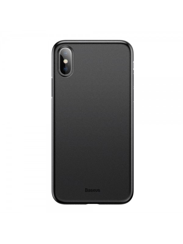 Husa Baseus Wing, Ultra Thin Lightweight, iPhone XS Max, Negru