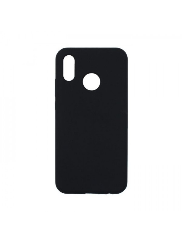 Husa Silicon Soft Flexible Rubber, Huawei P30 Lite, Negru