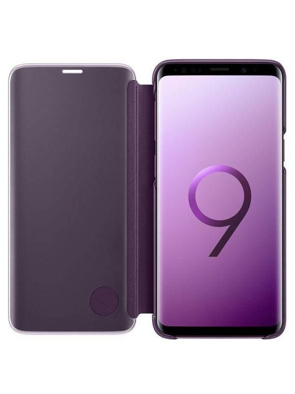 Husa Samsung Galaxy 9, Note Clear View, Originala, Mov