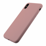 Husa Vetter iPhone XS Max Clip-On Soft Touch Silk Series Roz