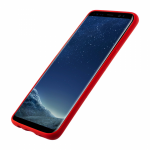 Husa Vetter Samsung Galaxy S8 Clip-On Soft Touch Silk Series Rosu