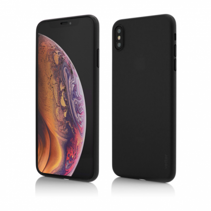 Husa Vetter iPhone XS Max Clip-On Ultra Thin Air Series Negru