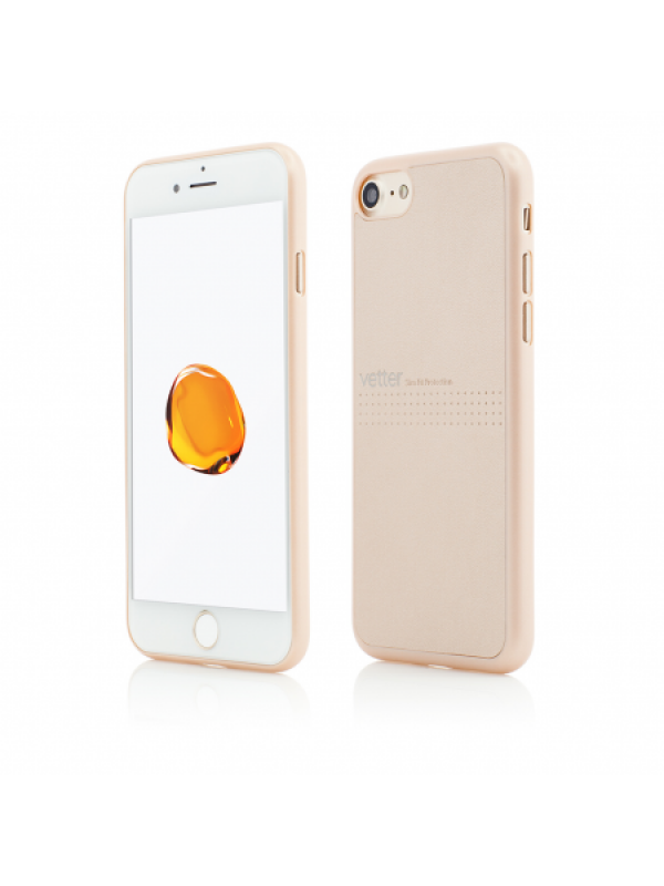 Husa Vetter iPhone 8, 7 Clip-On Slim Classic Series Auriu