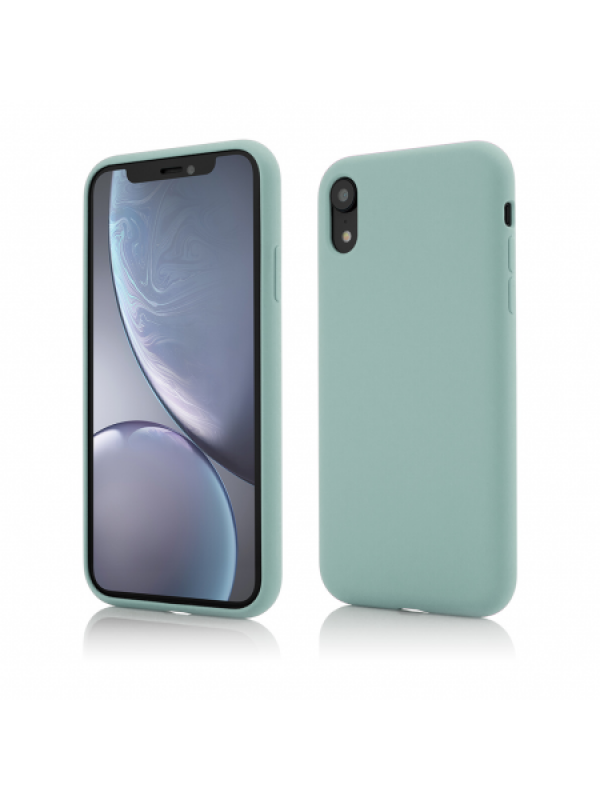 Husa Vetter iPhone XR Clip-On Soft Touch Silk Series Verde