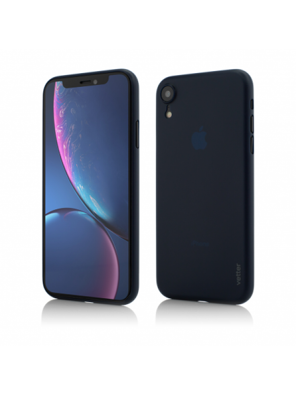 Husa Vetter iPhone XR Clip-On Ultra Thin Air Series Albastru