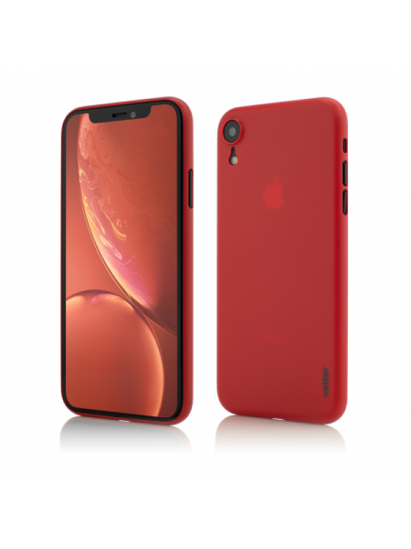 Husa Vetter iPhone XR Clip-On Ultra Thin Air Series Rosu