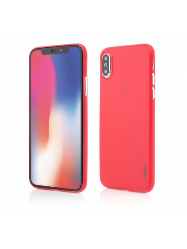 Husa Vetter iPhone XS, X Clip-On Ultra Thin Air Series Rosu