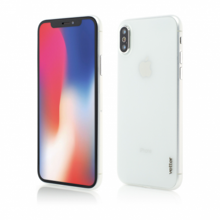 Husa Vetter iPhone XS, X Clip-On Ultra Thin Air Series Transparent