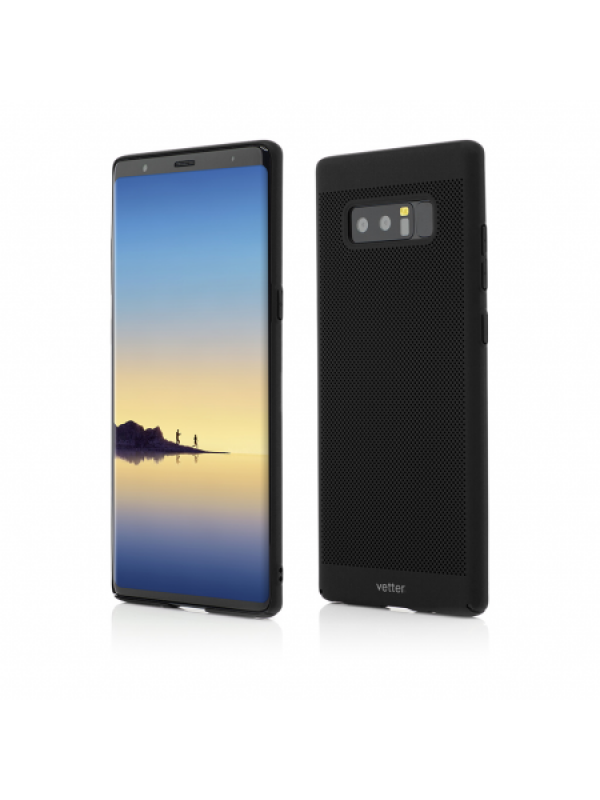 Husa Vetter Samsung Galaxy Note 8 Vent Series LTD Negru