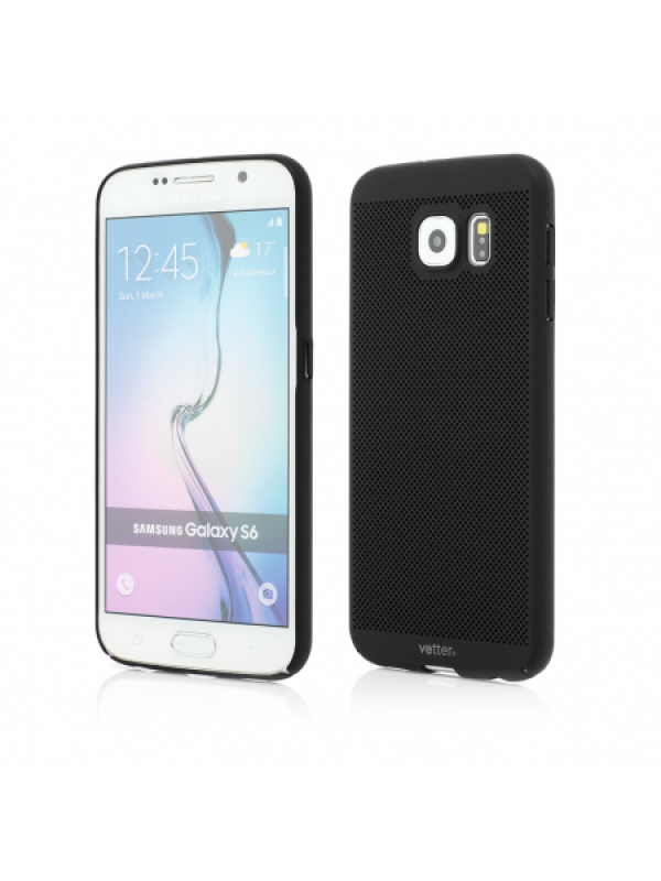 Husa Vetter Samsung Galaxy S6 Clip-On Vent Series LTD Negru