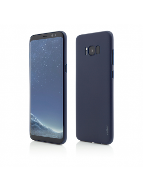 Husa Vetter Samsung Galaxy S8 Clip-On Ultra Thin Air Series Albastru