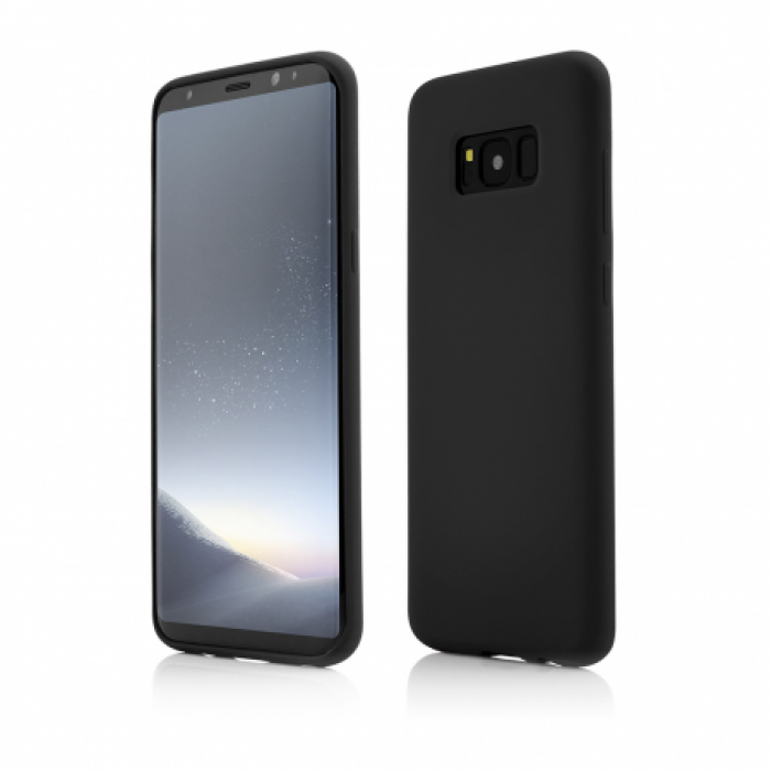 Husa Vetter Samsung Galaxy S8 Plus Clip-On Soft Touch Silk Series Negru