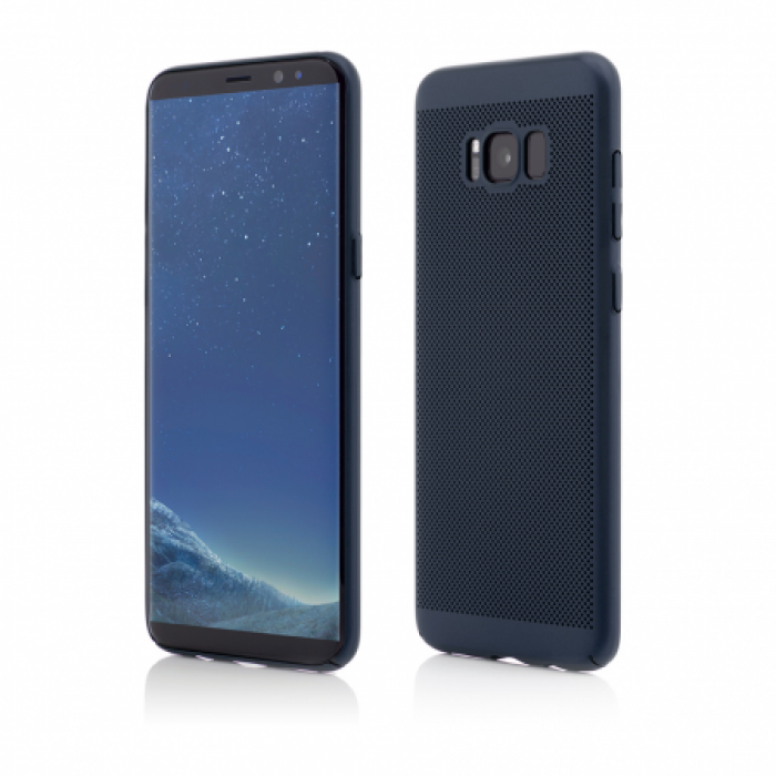 Husa Vetter Samsung Galaxy S8 Plus G955 Clip-On Vent Series LTD Albastru