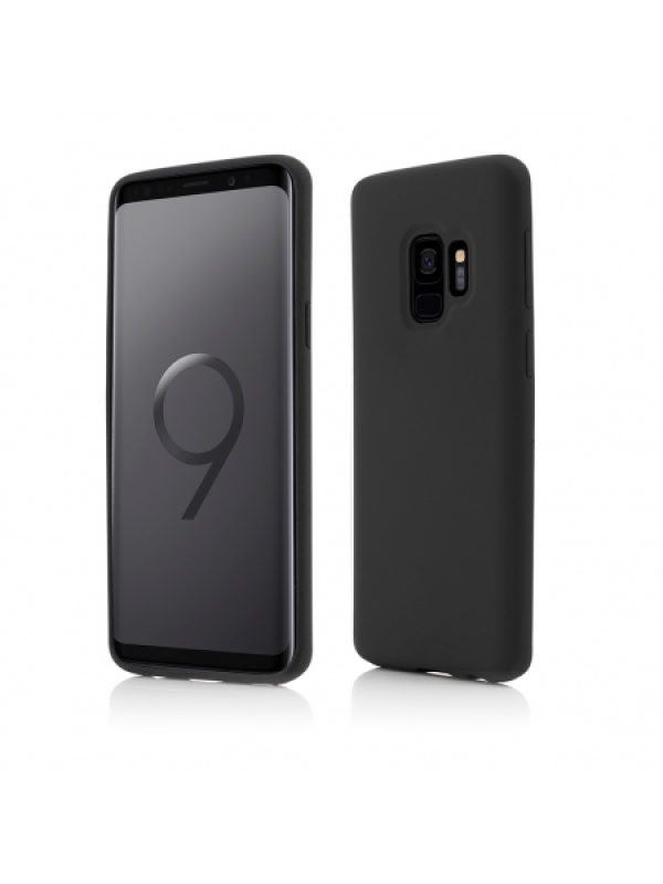 Husa Vetter Samsung Galaxy S9 Clip-On Soft Touch Silk Series Negru