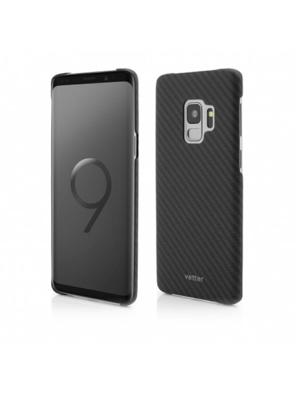 Husa Vetter Samsung Galaxy S9 Clip-On Ultra Slim made from Aramid Fiber Kevlar Negru