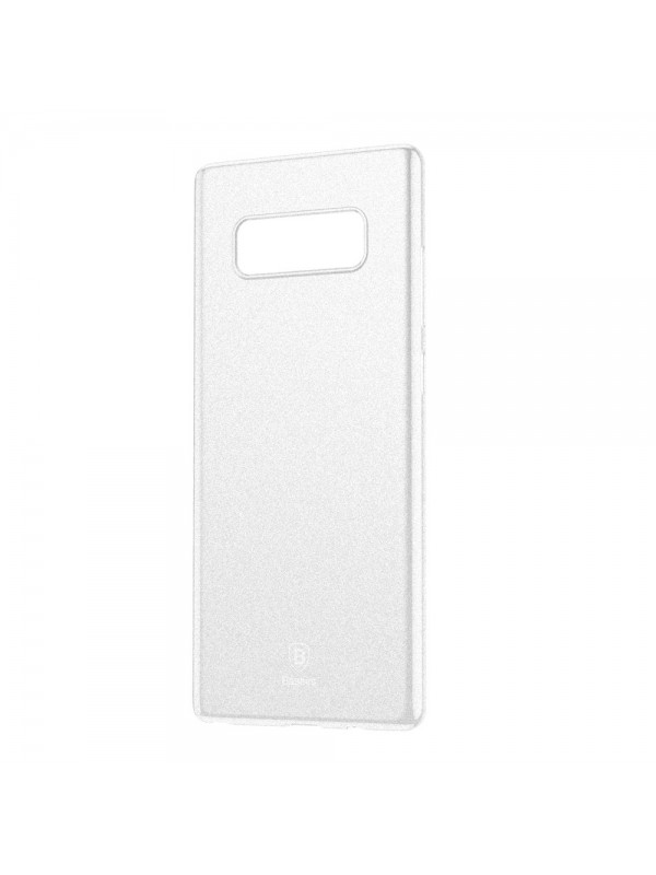 Husa Baseus Wing, Ultra thin lightweight, pentru Samsung Galaxy Note 8 G950, Alb transparent