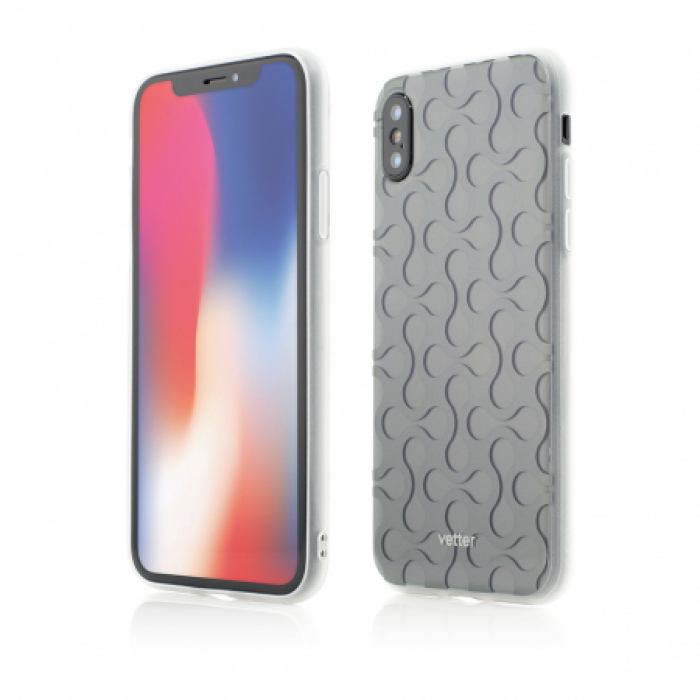 Husa Vetter iPhone XS, X Soft Pro 3D Series Negru