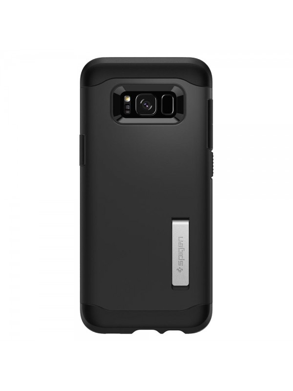 Husa Samsung Galaxy S8 Plus, Spigen Slim Armor Air Cushion, Negru